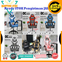 Promo Kursi Gaming Chair Computer Bangku Gaming Game Chaho Murah -