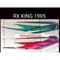 1995 SEPEDA STRIPING AKSESORIS MOTOR BODY LIS KING STICKER YAMAHA RX
