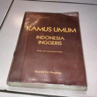 Kamus Indonesia Inggris Dengan Ejaan Yang Di Sempurnakan Buku Kamus
