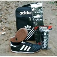 paket komplit sepatu futsal adidas kulit asli copa mundial Beckenbauer