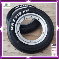 Unik Paket Velg Tubeless GS FA Polish X Ban Maxxis R10 3.50 Limited
