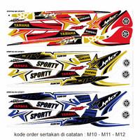 Motor - variasi Striping AMORE YAMAHA MIO THAILOK SPORTY Motif Keren S