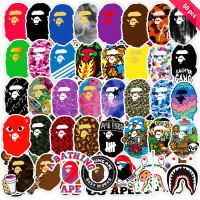 Y P Bape, Set Stiker Grafiti Tahan Air, 50 Lembar