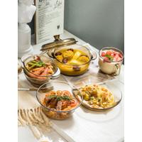 Bahasa Perancis Rumah2Kecil Pyrex Mangkuk Buah Mangkuk Salad Mangkuk