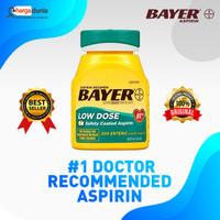TERBARU Bayer Aspirin Regimen, Low Dose (81 mg), Enteric Coated, 300