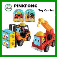 PINKFONG KOREA Pinkfong Forklift Baby Shark Crane Set Pinkfong Toy C