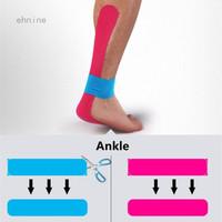Tape Kinesiology Pengikat Otot Lutut Untuk Olahraga Atletik Sepakbola