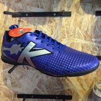 Kicosport sepatu futsal KELME star evo royal blue silver original new