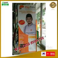 X Banner Paytren plus kaki penyangga Limited