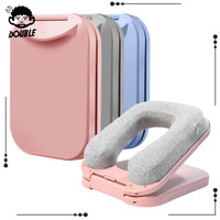 Bantal Leher Bentuk U Model Lipat Untuk Meja Rumah