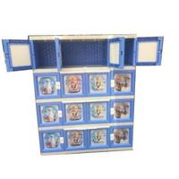 Lemari Pakaian Plastik Akako Super Jumbo 16 Pintu Plastic Cupboard