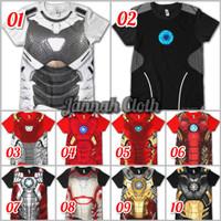 RDS - Baju Kaos Iron Man Ironman Superhero Suit Anak dan Dewasa