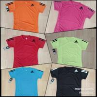 Atasan baju cewek badminton futsal dryfit adidas
