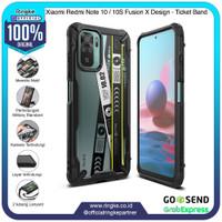 Ringke Redmi Note 10 Fusion X Ticket Softcase Anti Crack Slim Armor