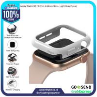 Ringke Apple Watch SE / 6 / 5 / 4 44mm Slim Light Gray Softcase Bump