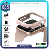 Ringke Apple Watch SE / 6 / 5 / 4 44mm Slim Peach Pink Softcase Bump