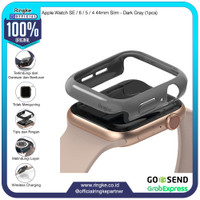 Ringke Apple Watch SE / 6 / 5 / 4 44mm Slim Dark Gray Softcase Bump