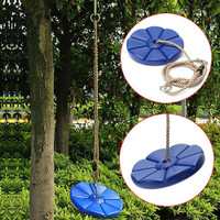 FVCO 28cm Outdoor Kids Baby Playground Swing Seat Toys Rotating