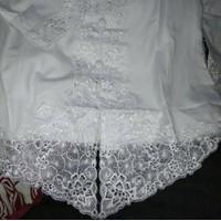encim Kebaya putih anak nyaman bahan katun warna bordir cantik dipakai