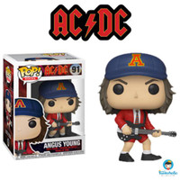 Funko POP Rocks AC DC - Angus Young with Red Jacket Exclusive 91