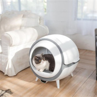 AGUNG Soikoi Automatic Self Cleaning Cat Litter Box UV