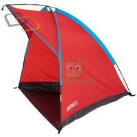 OLAHRAGA OUTDOOR HIKING JL9RD765 QUECHUA SHELTER NATURE ARPENAZ 0 RED