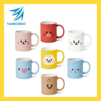 Diskon BTS BT21 Official Authentic Product Baby Basic Mug Cup 330ml