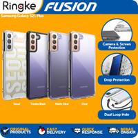Case Samsung S21 Plus Fusion Ringke Casing Softcase Anti Crack Slim - Clear