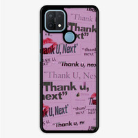 Casing Oppo A15 Thank You Next Ariana Grande L2723