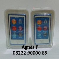 MURAH New Ipod Nano 16 GB 7th Generation Blue Biru Barang Hadiah Dari