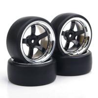 4Pcs Ban Drift Flat Drift Tipe 12mm untuk RC Mobil On-Road HSP Sk NA10