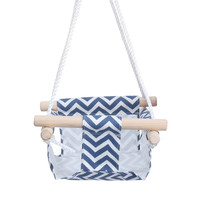 FVCL Kid Hanging Swing Seat Canvas Baby Hammock Chair Toddler