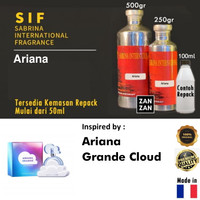 25ML Bibit Parfum Ariana Searah Ariana Grande Cloud by SIF