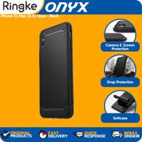 Case iPhone Xs Max Onyx Ringke Casing Softcase Anti Crack Slim
