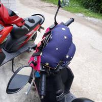 Kepala Pengaman dan Bantal Dada Setir atau Setang Anak Motor Katun Sta