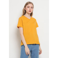 The Executive V-Neck Basic T-Shirt 5-TSKKEY121F053 Mango