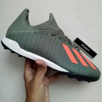 Adidas X 19.3 TF EF8366 Green Sepatu Futsal Turf Rumput Sintetis Origi
