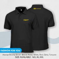 polo shirt taft / kaos kerah daihatsu taft - Hitam, S
