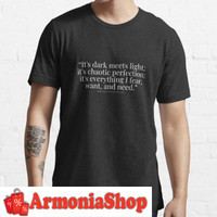 Kaos T-Shirt After We Collided Anna Todd Quote 6799 Armonia Custom