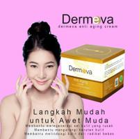 Cream Dermeva Anti Aging | Krim Ampuh Penghilang Flek Hitam Terlaris