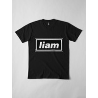 Kaos Liam Gallagher Oasis Gallagher 90S Band Artw 4332 T-Shirt