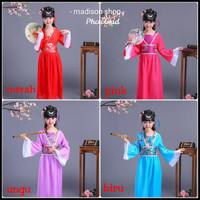 Murah Imlek Muda Congsam M Kostum Oriental Biru Cheongsam Anak Baju -