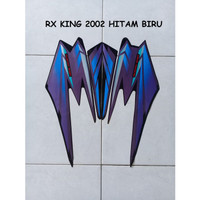 Sticker Lis Motor Yamaha RX King 2002 Hitam Biru