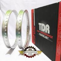 Veleg Velg Pelg Peleg Velek Pelek TDR Ukuran 140 Ring 17 2 PCS warna