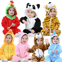 Baby Romper Animal Jumpsuit Cosplay Pajamas for Kids