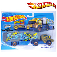 WOW Hot Wheels Truck BANK ROLLER Transport Great for Track Mainan