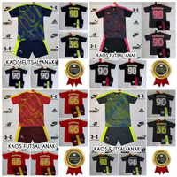 Baju Kaos Futsal Bola Anak Kids Nike Adidas Puma Nama Nomor