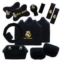 QIANA 36656 BANTAL MOBIL 8 IN 1 EXCLUSIVE REAL MADRID