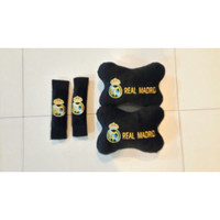 QIANA 21698 BANTAL MOBIL 2 IN 1 EXCLUSIVE CLUB REAL MADRID