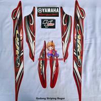 Striping List Bodi & Stiker Body Mio Sporty 2010 Merah